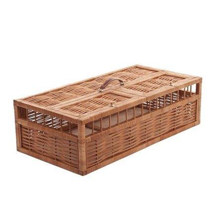 Wicker basket for pigeons