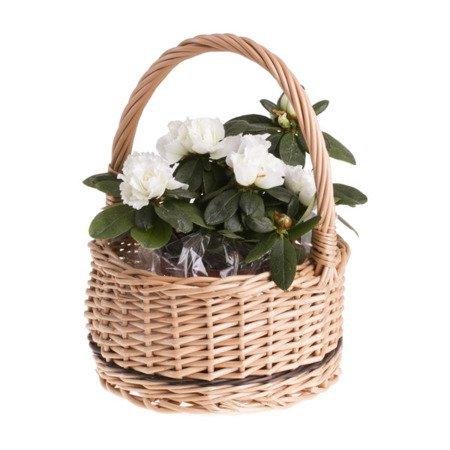 Geschenkkorb aus Weide in Naturfarbe