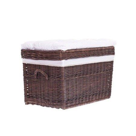 Kufer szary z obszyciem 70cm