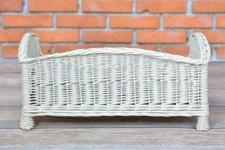 Wiklinowe prostokątne legowisko / kanapa dla zwierząt