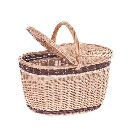 Wiklinowy kosz piknikowy